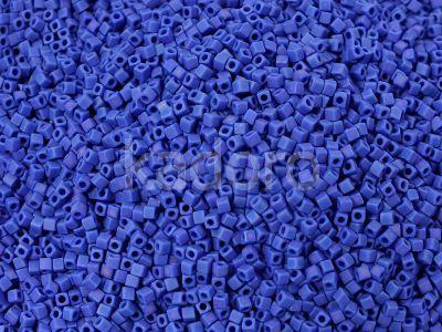 Miyuki Square 1.8mm-414FR Opaque-Rainbow Frosted Cobalt - 5 g