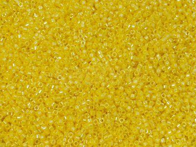 Miyuki Delica DB1562 Opaque Canary Luster - 5 g