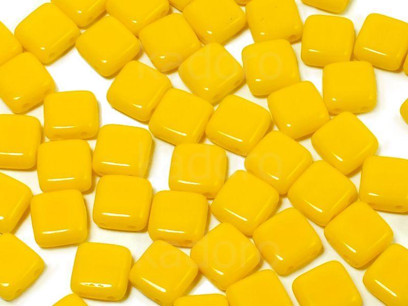 Tile 6mm Opaque Yellow - 20 sztuk