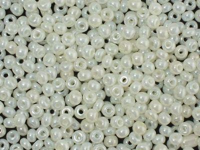 PRECIOSA Rocaille 8o-Off-White Rainbow Shell - 50 g