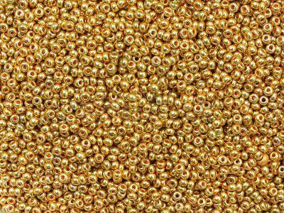 PRECIOSA Rocaille 11o-Gold II - 50 g