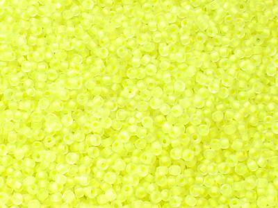 PRECIOSA Rocaille 11o-Transparent Neon Lt Yellow - 50 g