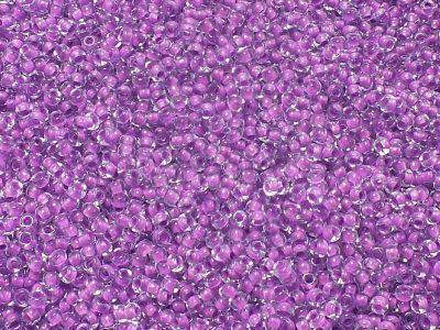 PRECIOSA Rocaille 11o-Neon Violet Lined Crystal - 50 g