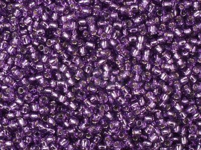 TOHO Round 11o-2219 Silver-Lined Lt Grape - 100 g