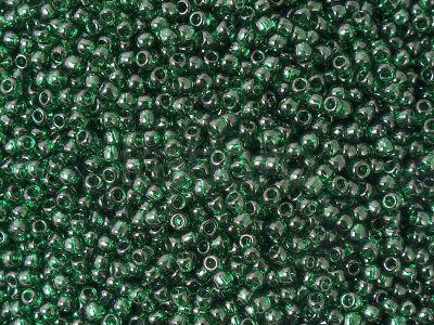 TOHO Round 11o-939 Transparent Green Emerald - 100 g