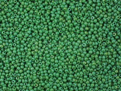 PRECIOSA Rocaille 11o-Opaque-Rainbow Medium Green - 50 g
