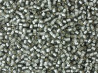 TOHO Round 11o-29AF Silver-Lined Frosted Black Diamond - 10 g