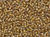 TOHO Round 11o-278 Gold-Lined Rainbow Topaz - 10 g