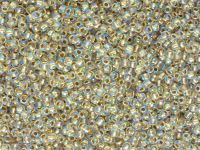 TOHO Round 11o-994 Gold-Lined Rainbow Crystal - 10 g