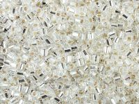 TOHO Hex 8o-21 Silver-Lined Crystal - 10 g