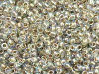 TOHO Round 8o-994 Gold-Lined Rainbow Crystal - 10 g