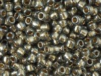 TOHO Round 6o-993 Gold-Lined Black Diamond - 10 g