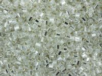 TOHO Hex 11o-21 Silver-Lined Crystal - 10 g