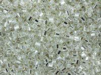 TOHO Hex 11o-21 Silver-Lined Crystal - 10 g