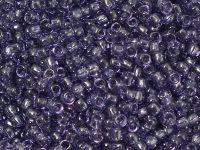 TOHO Round 8o-19 Transparent Sugar Plum - 10 g