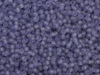 TOHO Round 11o-19F Transparent-Frosted Sugar Plum - 10 g