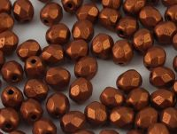 FP 4mm Matte Metallic Dark Copper - 40 sztuk