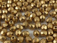 FP 4mm Matte Metallic Flax - 40 sztuk