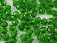FP 4mm Green Emerald - 40 sztuk