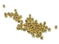Kulki pozłacane 2.5 mm - 10 sztuk