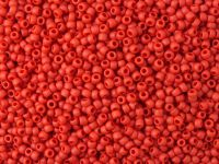 TOHO Round 11o-45F Opaque-Frosted Pepper Red - 10 g