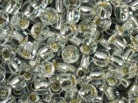 TOHO Round 3o-21 Silver-Lined Crystal - 10 g