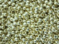 TOHO Round 8o-PF558 Permanent Finish - Galvanized Aluminium - 10 g