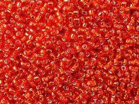 TOHO Round 11o-25B Silver-Lined Siam Ruby - 10 g