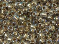 TOHO Round 6o-994 Gold-Lined Rainbow Crystal - 10 g