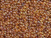 TOHO Round 11o-1825 Inside-Color Rainbow Hyacinth - Opaque Purple Lined - 10 g