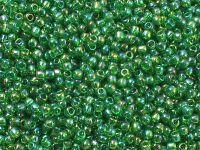 TOHO Round 11o-167B Trans-Rainbow Grass Green - 10 g
