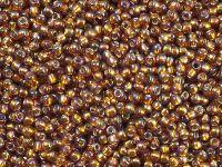 TOHO Round 11o-2034 Silver-Lined Rainbow Topaz - 10 g