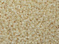 TOHO Round 15o-123 Opaque-Lustered Lt Beige - 5 g