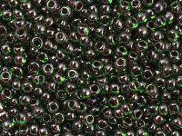 TOHO Round 8o-250 Inside-Color Peridot - Fuchsia Lined - 10 g