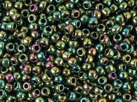 TOHO Round 8o-508 Higher-Metallic Iris Olivine - 10 g