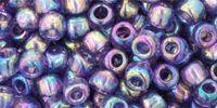 TOHO Round 6o-166D Trans-Rainbow Sugar Plum - 10 g