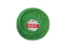 Kordonek Ariadna 76x2 zielony - 10g