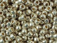 TOHO Round 6o-PF558 Permanent Finish - Galvanized Aluminium - 10 g