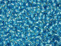 TOHO Round 8o-23 Silver-Lined Aquamarine - 10 g