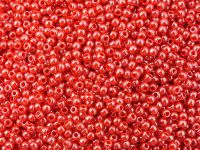 TOHO Round 11o-125 Opaque-Lustered Cherry - 10 g