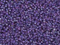 TOHO Round 15o-928 Inside-Color Rainbow Rosaline - Opaque Purple Lined - 5 g