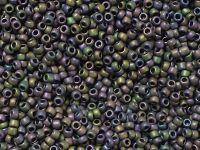 TOHO Round 15o-85F Frosted Metallic Iris Purple - 5 g