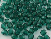 FP 4mm Dark Emerald - 40 sztuk