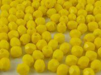 FP 4mm Opaque Yellow - 40 sztuk