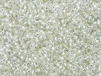 TOHO Round 11o-21 Silver-Lined Crystal - 100 g