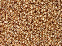 TOHO Round 11o-PF551 Permanent Finish - Galvanized Rose Gold - 10 g