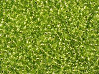 TOHO Round 11o-24 Silver-Lined Lime Green - 10 g