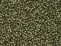 TOHO Round 15o-617 Matte-Color Dark Olive - 5 g