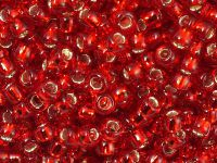 TOHO Round 6o-25C Silver-Lined Ruby - 10 g