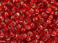 TOHO Round 6o-25C Silver-Lined Ruby - 10 g
